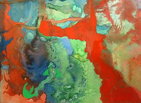 Volcanic Island by Mary Ellen Frazee
