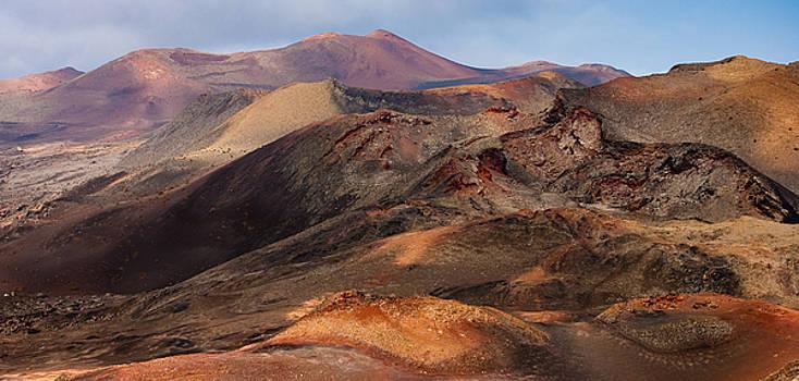 Volcanic Ridges by Neil Buchan-Grant