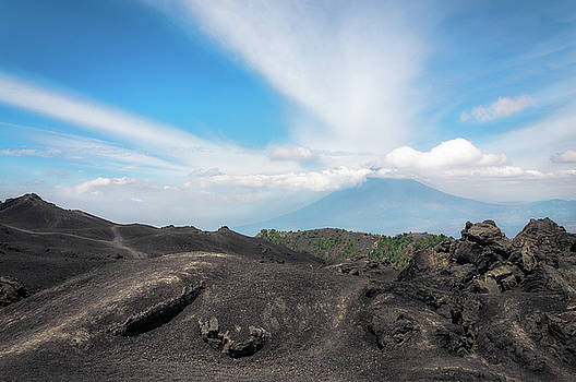 Volcanic rock formations at Pacaya Volcano, Guatemala by Daniela Constantinescu