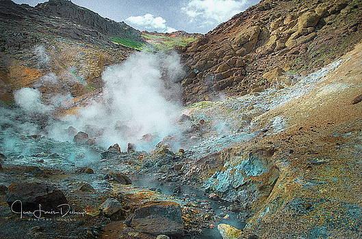 Volcano by Jean-Louis Delhaye
