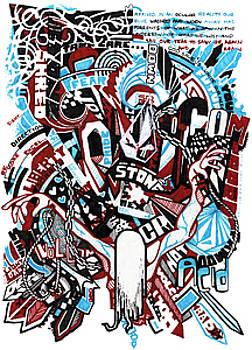 Volcom Acid Martyr by Mike Hawkins