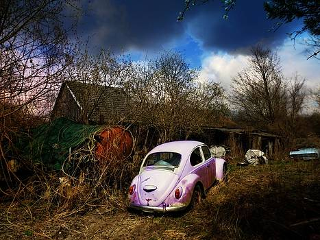 Volkswagen Graveyard by Digital Art Cafe