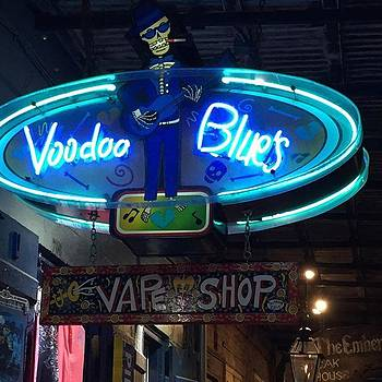 #voodoblues #frenchquarter by Gin Young