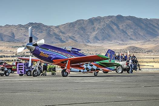 John King - Voodoo Engine Start Sunday Gold Unlimited Reno Air Races