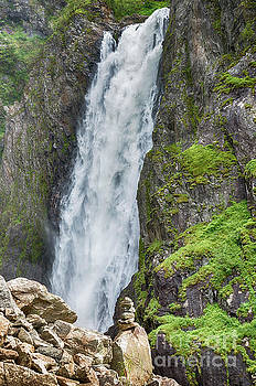 voringfossen waterfall in Norway by Compuinfoto