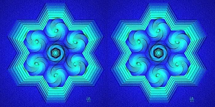 Vort-Hex Stereogram by David Voutsinas