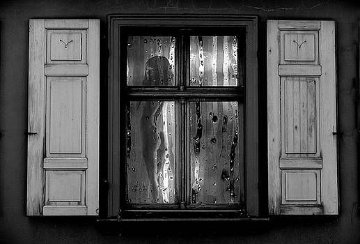 Voyeurism - Nude in Window by Andrea Kollo