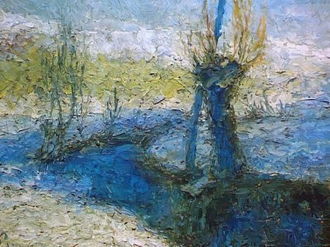 Vrbe Ob Potoku 1911 by Grohar Ivan
