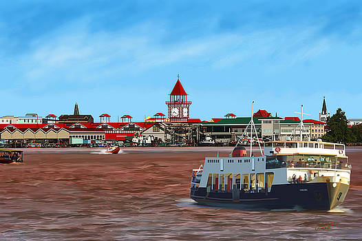 Vreed-en-Hoop Ferry Georgetown by James  Mingo