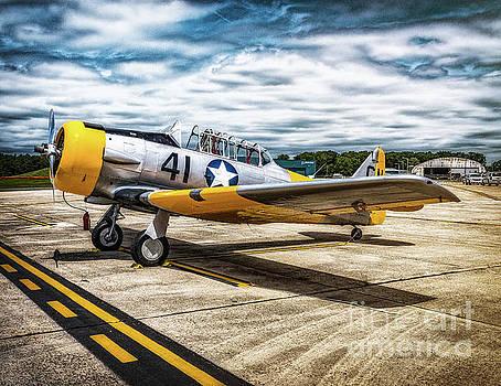 Vultee BT-13 Valiant  by Nick Zelinsky