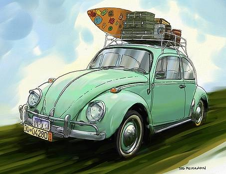 RG McMahon - VW Beach Bug