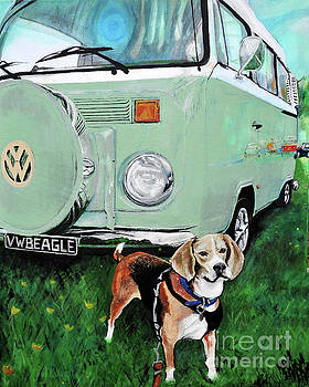 VW Beagle by Michelle Deyna-Hayward