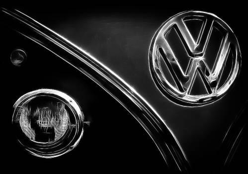 VW Emblem Stripes by Athena Mckinzie