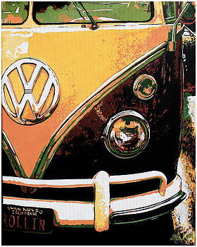 VW Van #2 by Alexandra Kube