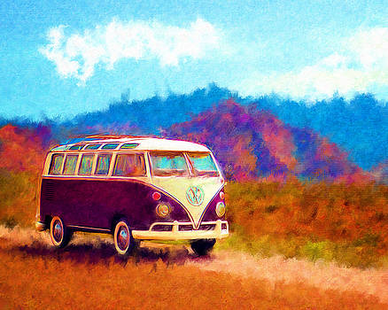 VW Van Classic by Marilyn Sholin