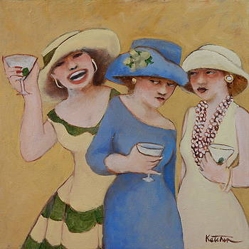 Wach Out for the Third Martini by Carole Katchen
