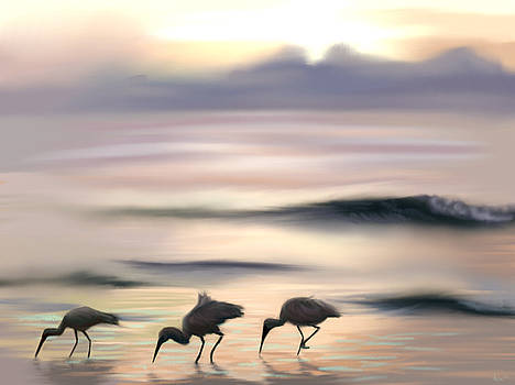 Wading for Dinner by Greg Neal