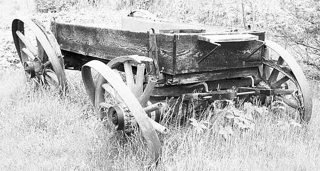 Michael Rutland - Wagon at Stockdale Mill