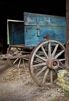 Wagon Detail by Douglas Stucky