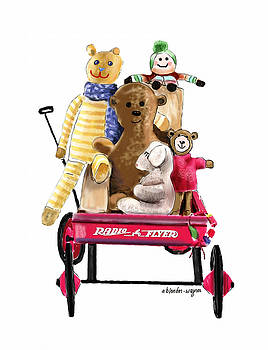 Wagon Full Of Toys by Arline Wagner