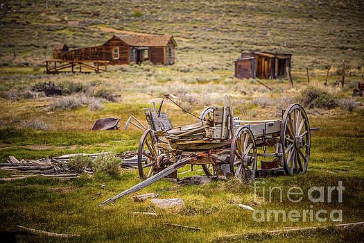 Wagon Relic by Daniel Knighton