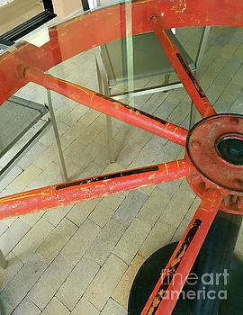 Mary Kobet - Wagon Wheel Table