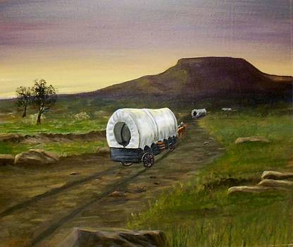Wagons West by Sheri Keith