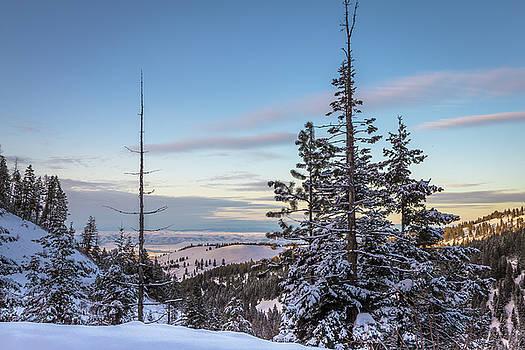 Waha Mountain Winter by Brad Stinson