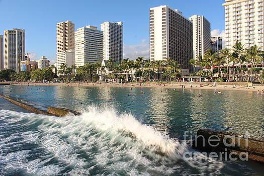 Waikiki Breakers by Cheryl Del Toro