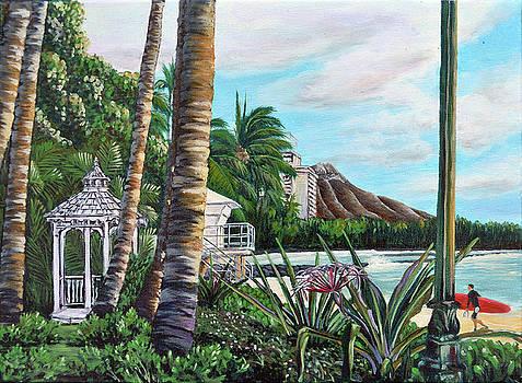 Waikiki by Larry Geyrozaga