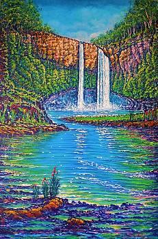 Wailua Falls - Kauai by Joseph   Ruff