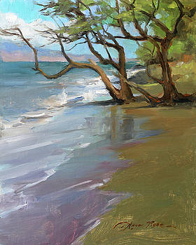 Wailuku Shoreline by Anna Rose Bain