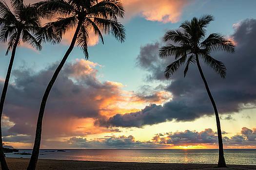 Brian Harig - Waimea Beach Sunset 3 - Oahu Hawaii