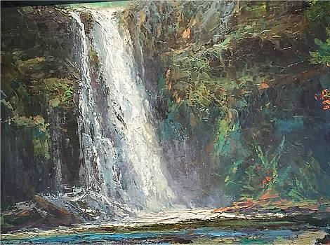Waimea Falls, Waimea, Oahu by Ed Furuike