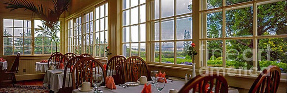 interior Waimea restaurant big island Hawaii 309010100.tif by Tom Jelen