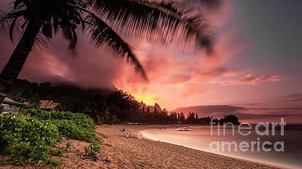 Wainiha Kauai Hawaii Bali Hai Sunset by Dustin K Ryan