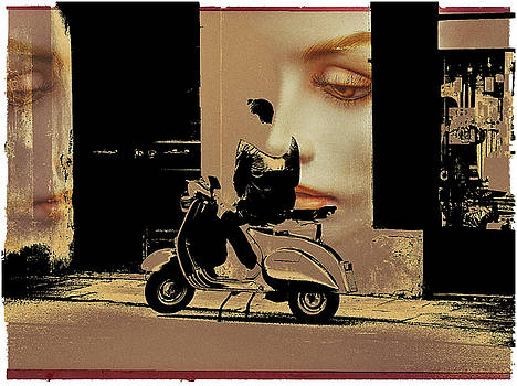 Waiting alone by Gabi Hampe
