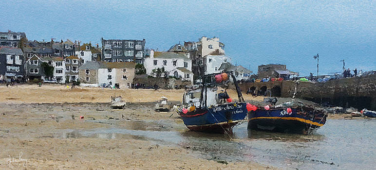 Waiting Boats by Julian Perry