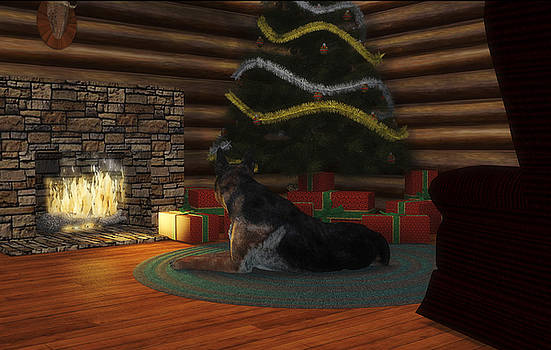 Waiting For Santa by Chris Bird