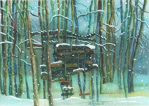 Waiting for Spring by Anne Havard
