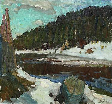 Waiting for Spring by Juliya Zhukova