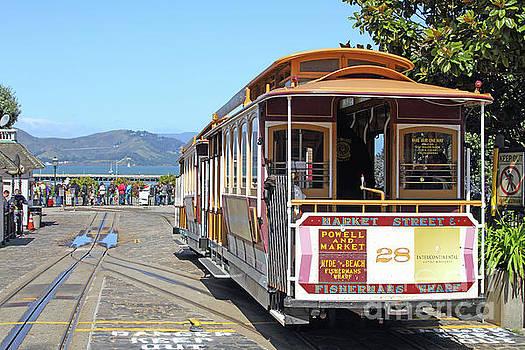 Waiting For The Cablecar At Fishermans Wharf San Francisco California 7D14099 by San Francisco