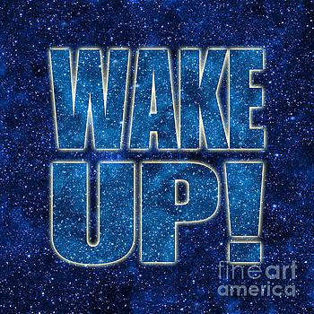 Wake Up Space Background by Ginny Gaura
