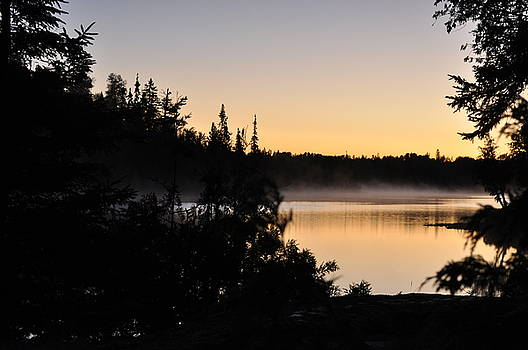 Waking up in a Tent by Erin Clausen