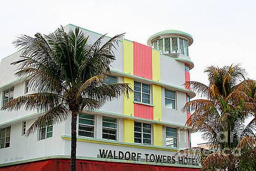 Barbara McMahon - Waldorf Towers Hotel - Art Deco Architecture