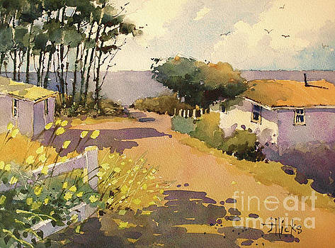 Waldport Cottages by the Sea by Joyce Hicks
