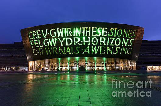 Wales Millennium Centre by Steev Stamford