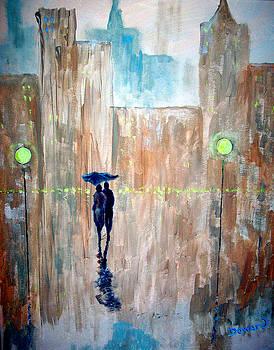 Walk in the Rain #36 by Raymond Doward