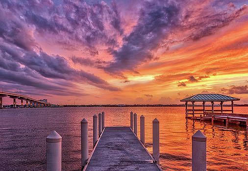 Walk into the Sunset by Louise Hill