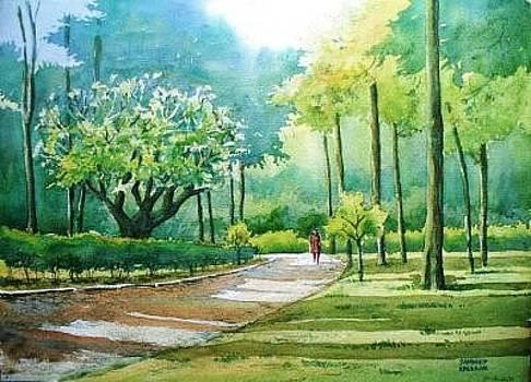 Walk on Canal Road Pune by Sandeep Khedkar